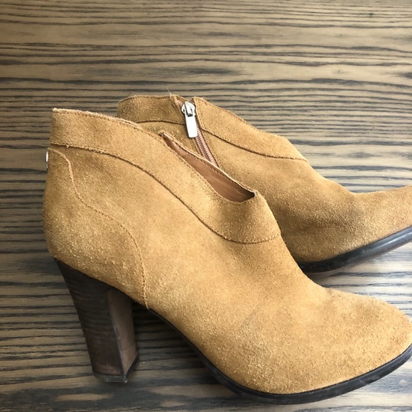 Crown Vintage Tan Booties-10